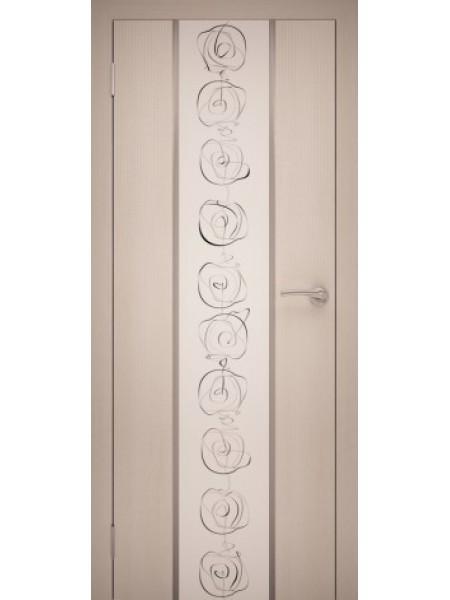 Межкомнатная дверь Н-АИР Chrome-01