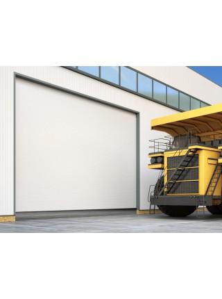 Промышленные секционные ворота DoorHan ISD03 из алюминиевых панелей