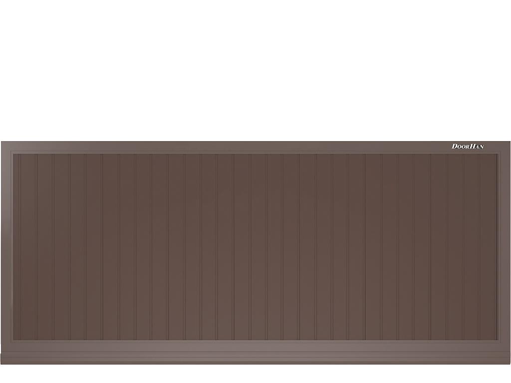 Щит с вертикальным расположением сэндвич-панелей